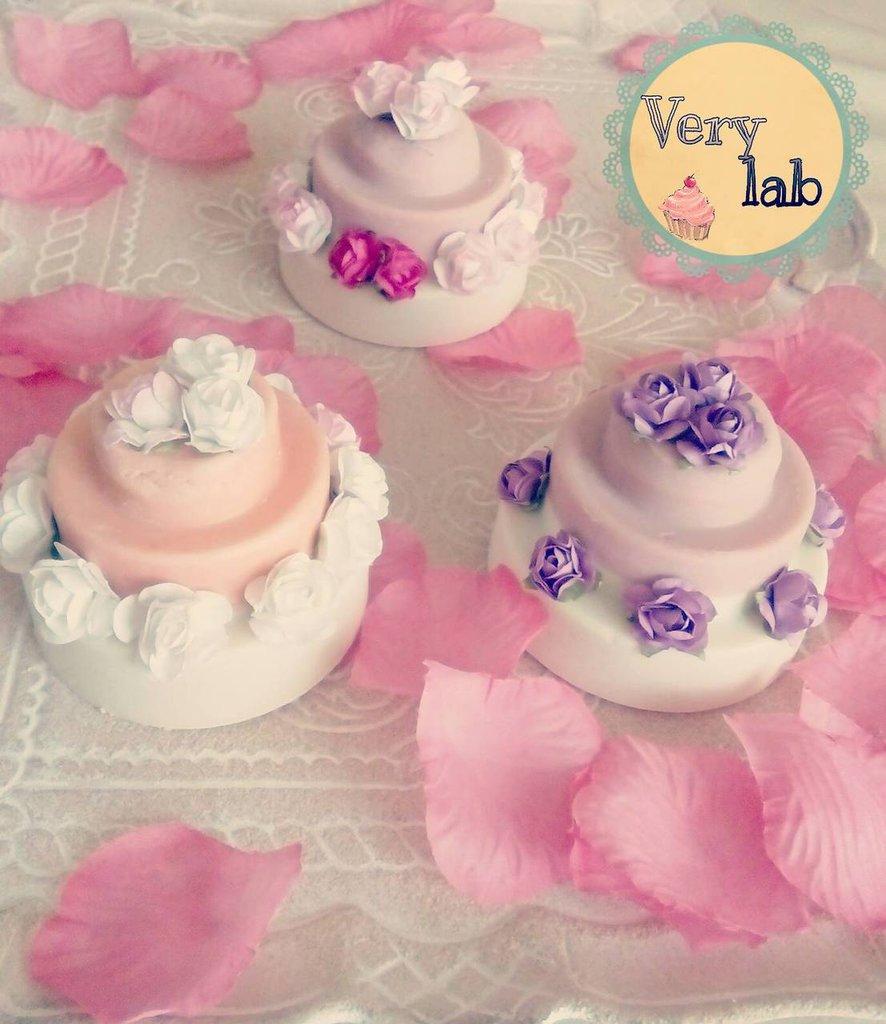Cake e cupcake soap natur