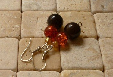 Wood Walk Earrings