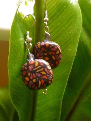 Polymer Love Earrings