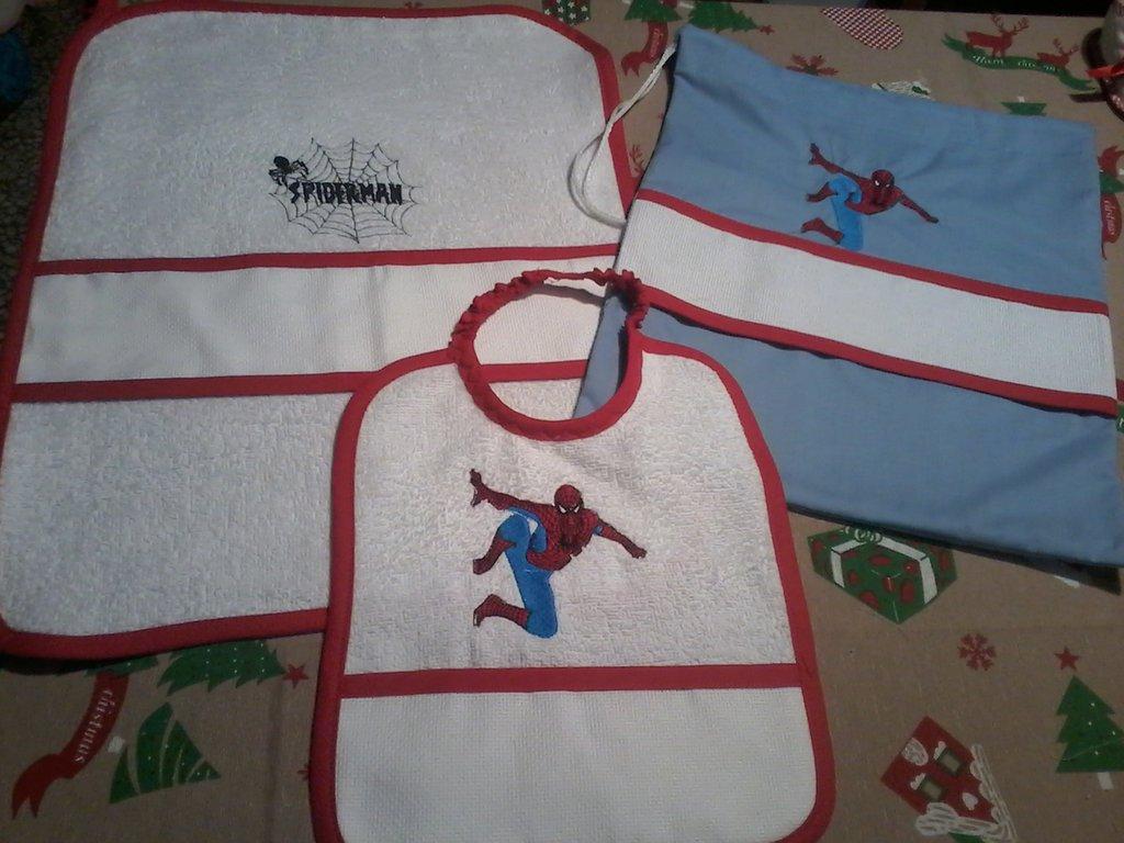 Set asilo spiderman