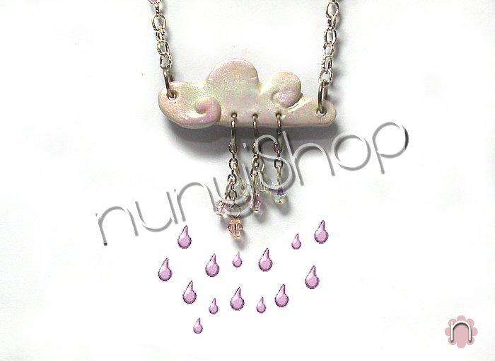 Collana Rainy Day (rosa)