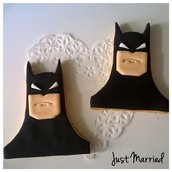 biscotti decorati Batman