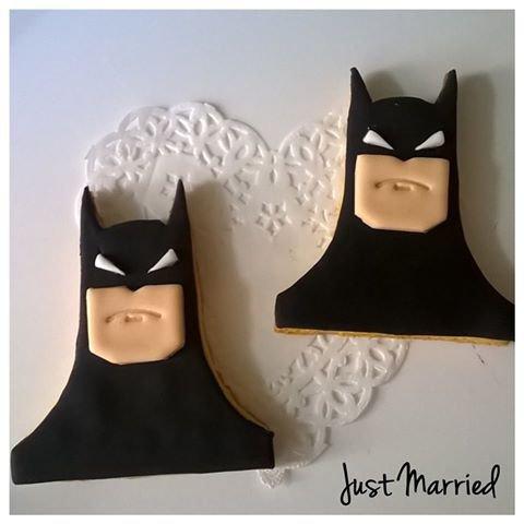 biscotti decorati Batman