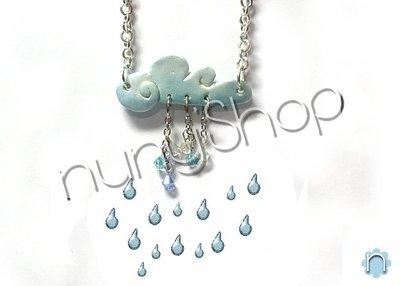 Collana Rainy Day (azzurra)