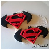 biscotti decorati Batman vs Superman