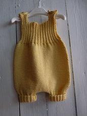Tutina neonato fatta a mano
