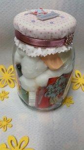 "Idea regalo in vaso ""Manicure"""