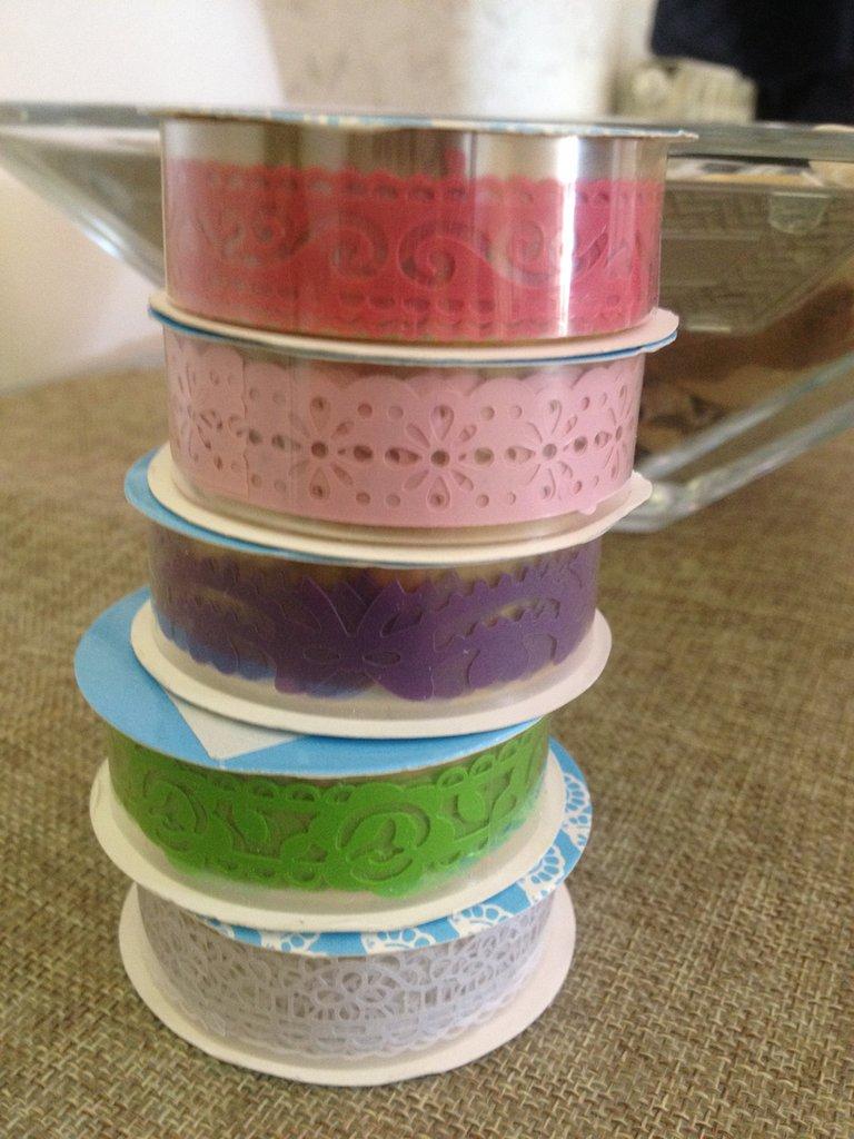 washi tape stile merletto