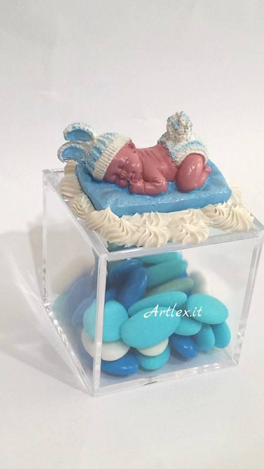 Bomboniera in ceramica per nascita o battesimo