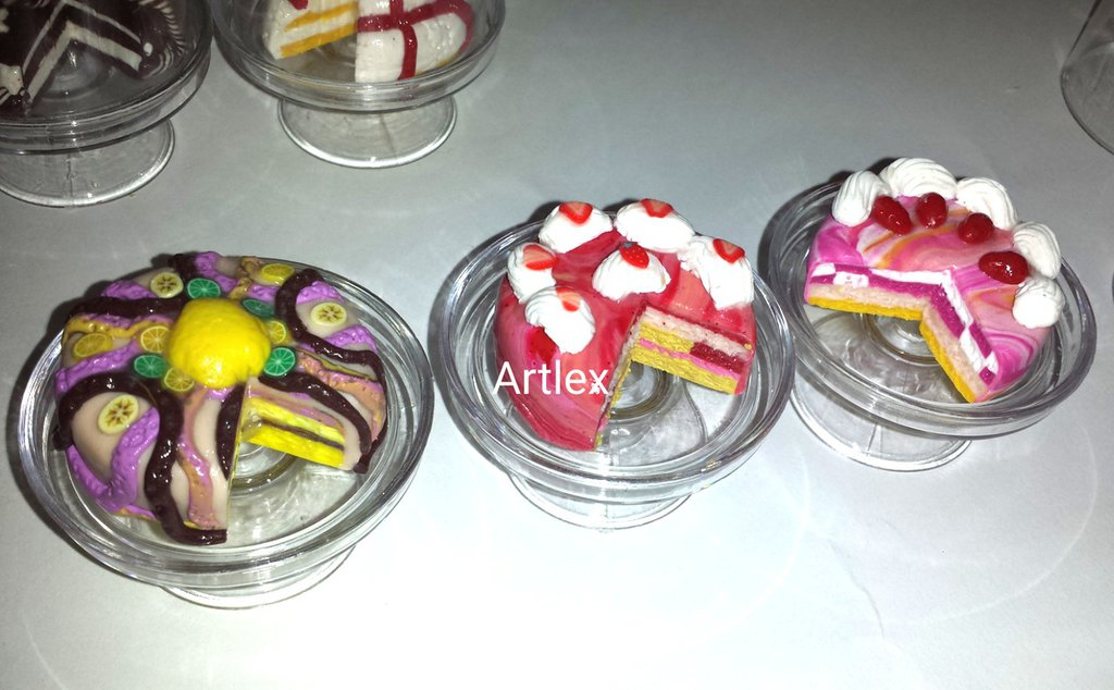 Torte in miniatura in fantasie stupende