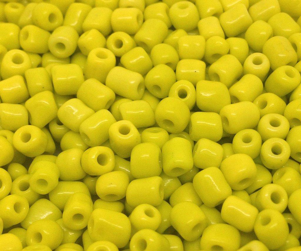 perline gialle 4 mm 200 pz