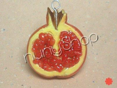 Ciondolo frutta - MELOGRANO