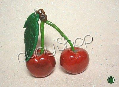 Ciondolo frutta - CILIEGIE