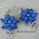 Orecchini Blu Alpino