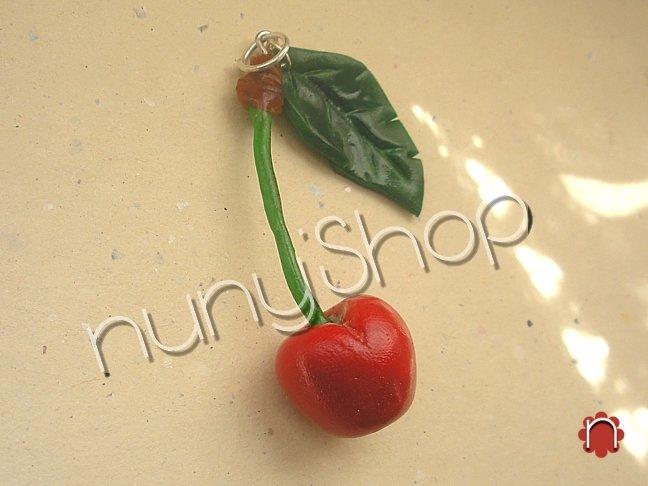 Ciondolo frutta - CILIEGIA (singola)
