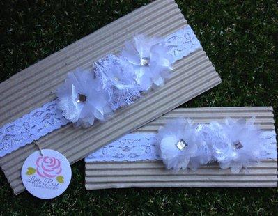Fascia elastica per Battesimo by Little Rose Handmade