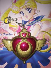 Spilla Sailor Moon Portachiavi