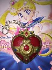 Cosmic Heart Compact Sailor Moon portachiavi magico cuore