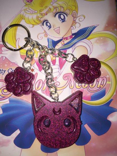 Luna Sailor Moon Portachiavi