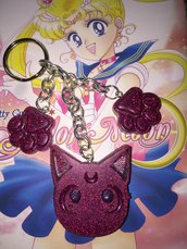 Luna Sailor Moon Portachiavi