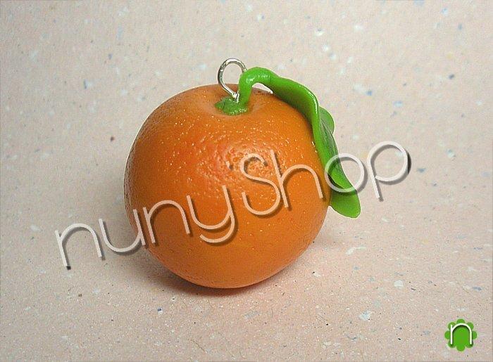 Ciondolo frutta - ARANCIO