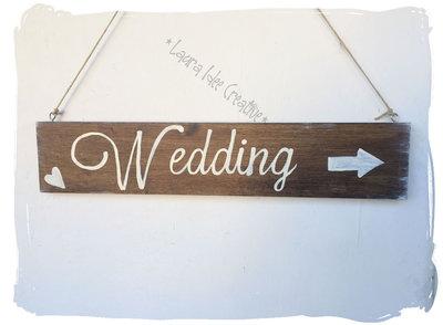 Inserzione privata Per Eva: Cartelli Matrimonio indicazione e tavolo