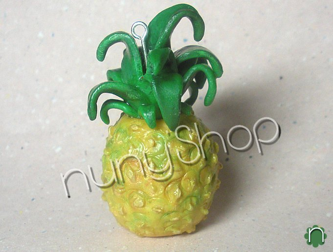 Ciondolo frutta - ANANAS