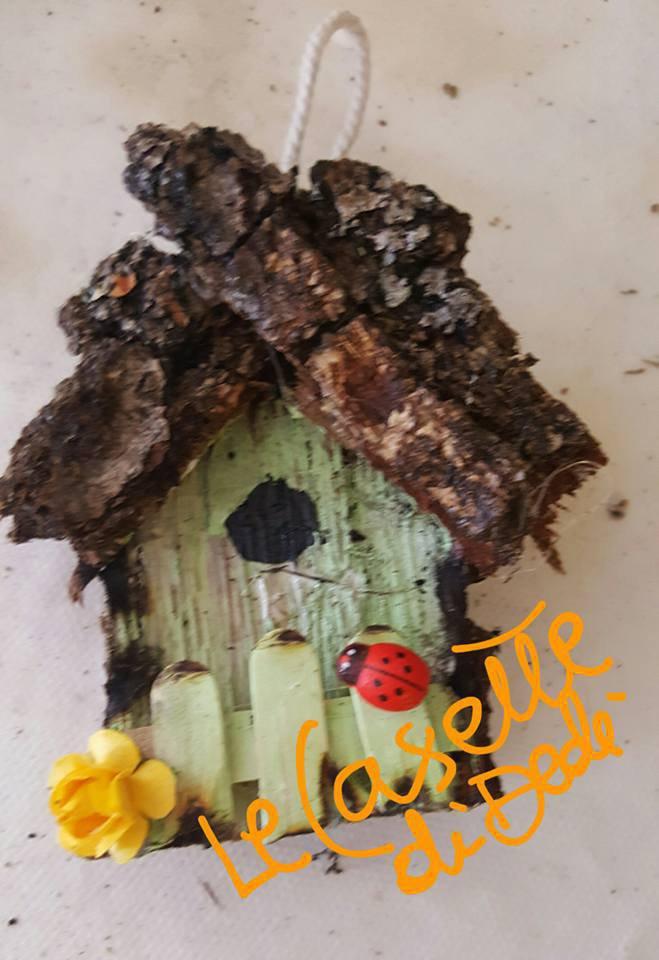 casetta in legno mini