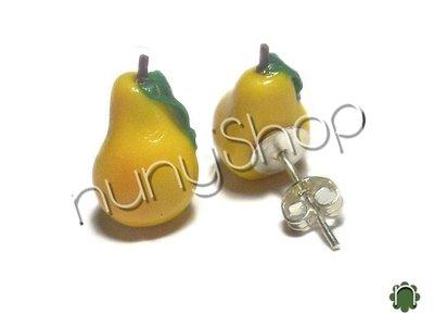 Orecchini frutta (perno) - PERA