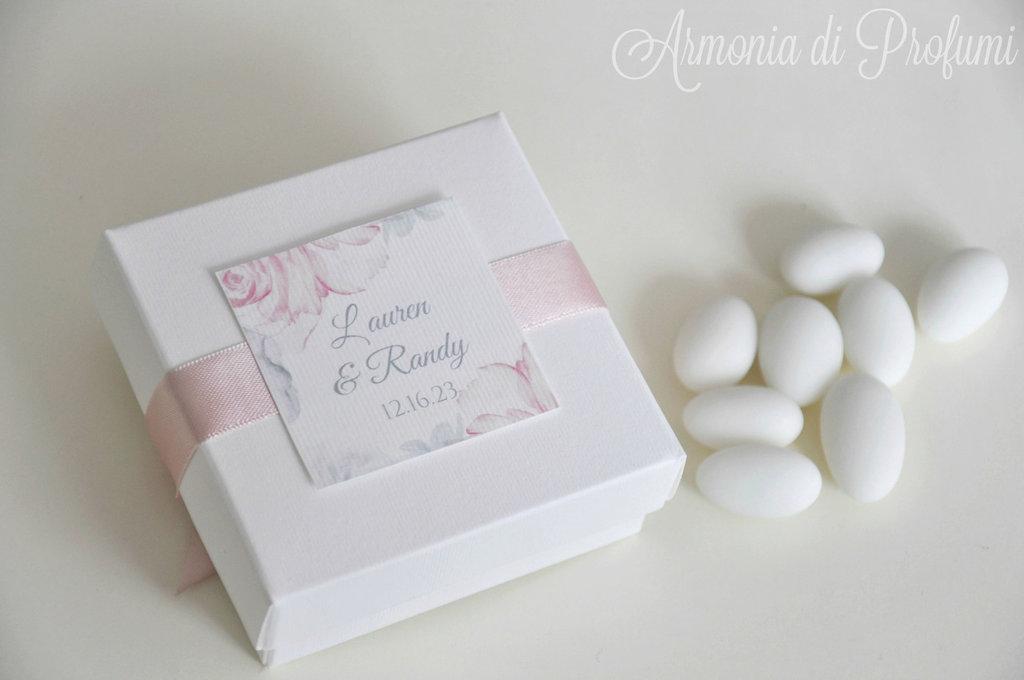 scatola bomboniera matrimonio