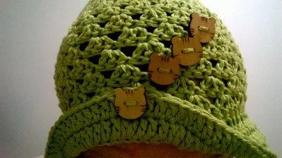 Cappello per bimba e/o giovane ragazza