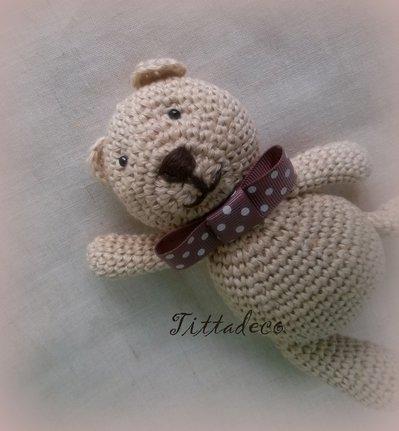 Orso Orsetto forever friends amigurumi crochet orso bear SUB-ESP ... | 431x399