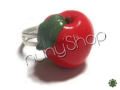 Anello frutta - MELA ROSSA