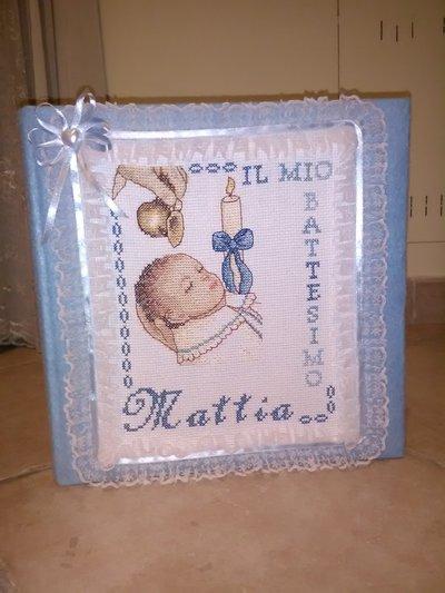 album foto battesimo libro ospiti cerimonie regalo bimbi artigianale