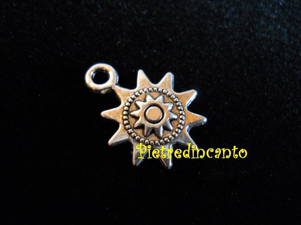 CIONDOLO SOLE STILE TIBETANO - dscn9032