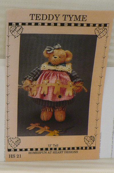 Cartamodello Teddy Bear originale