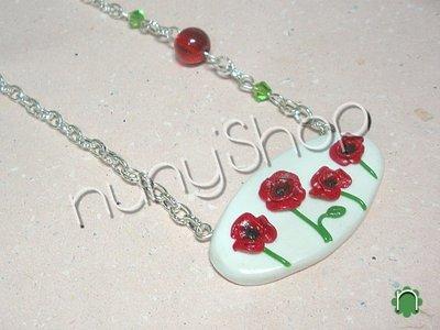 Collana Poppies