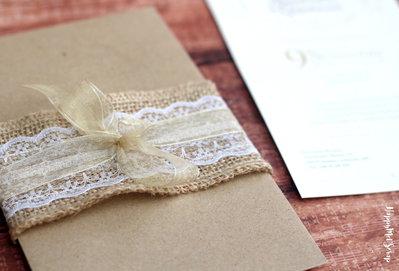 Partecipazioni di nozze Arcobaleno