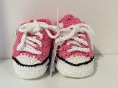 scarpine neonato fatte a mano
