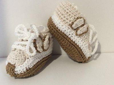 scarpine neonato modello hogan fatte a mano