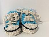 Scarpine neonato fatti a mano
