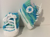 Scarpine neonato modello converse