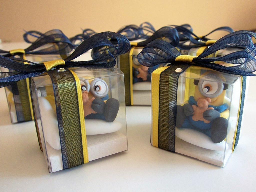 Bomboniere Minions Confetti decorati