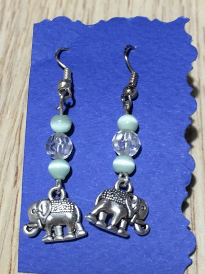 orecchini bigiotteria elefanti