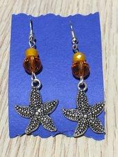 orecchini bigiotteria stelle marine