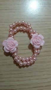 🌼Braccialetto fiore 🌼Lady pink