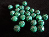 MALACHITE 8mm SFACCETTATA - N006M