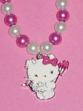 collana Hello Kitty diavolo