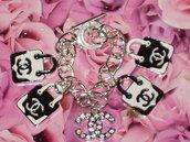 """bracciale borsette """"tipo Chanel"""""""