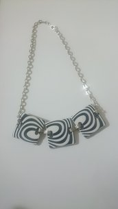 "Collana ""Black and White"""